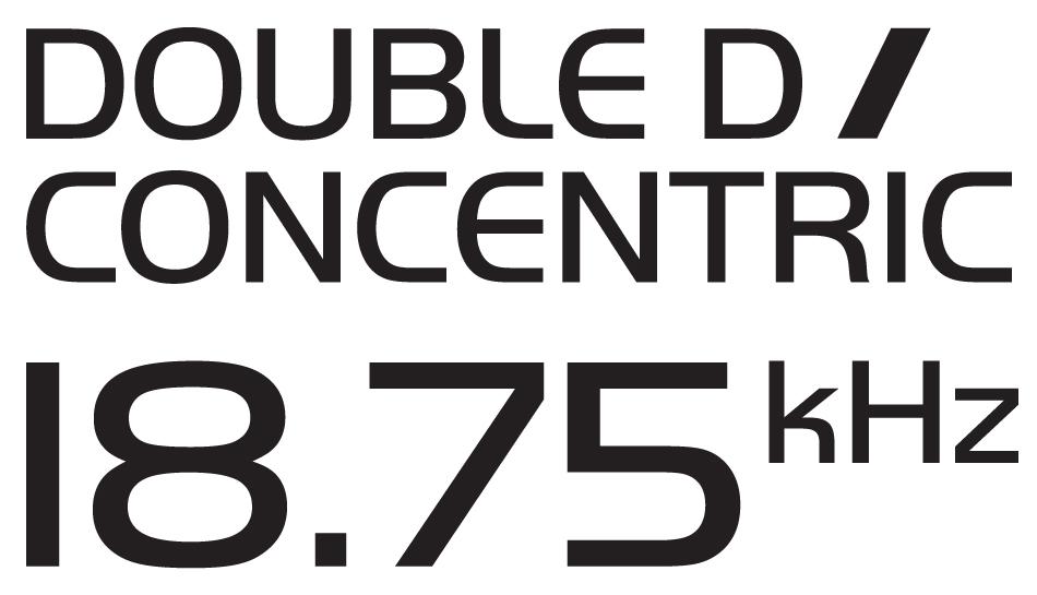 Double D Concentric 18.75kHz