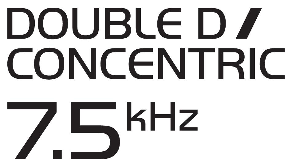 Double D Concentric 7.5kHz