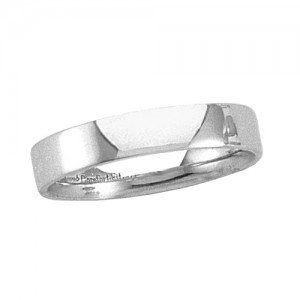 Platinum Flat Band 4mm