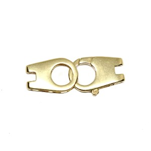 Lobster Clasp in 14k Yellow Gold, MM