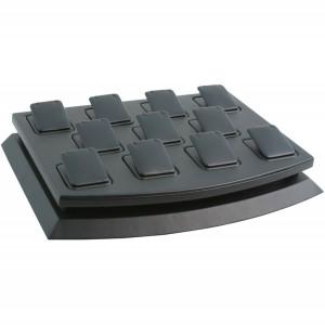 11-Piece Square-Pad Pendant Displays