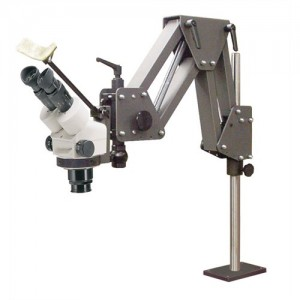 Acrobat Stand with Optima SetterScope Zoom Stereo Microscope (7x - 45x)