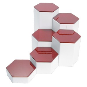 "6-Pc Rosewood Top Set 6.25""H"