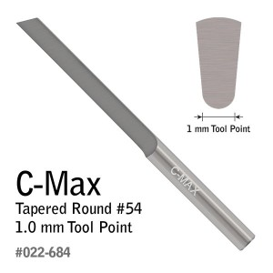 GRS C-Max Carbide Gravers Tapered Round