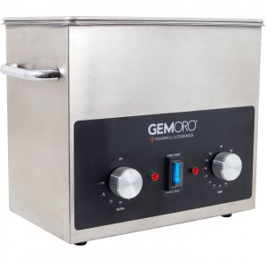 GemOro 3-Quart Next Generation Stainless Steel Ultrasonic Machine
