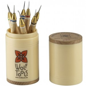 Wolf Tools Precision Wax Carving Tool Set 8 pc
