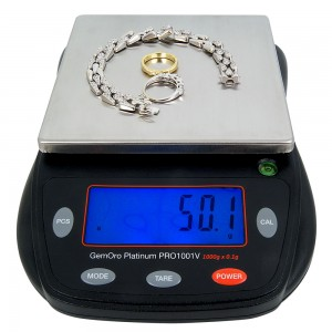 Gemoro Platinum® PRO 1001V Digital Scale