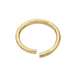 18k Yellow Open Jump Ring