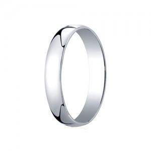 Platinum Comfort Fit Band 4 mm