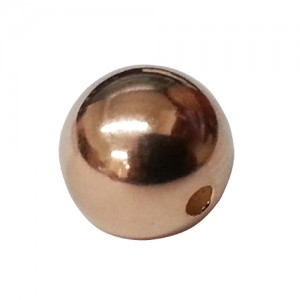 Rose Gold Filled Bead