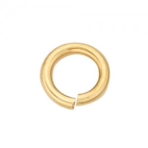 14k Yellow Open Jump Ring