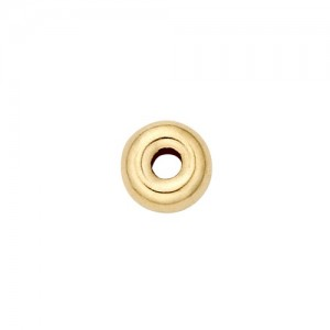14k Yellow Smooth Roundel