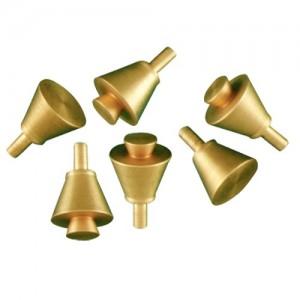 Set Of 6 Brass Pins