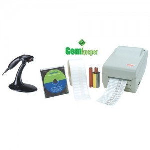 Gemkeeper Software w/ Scanner & Printer