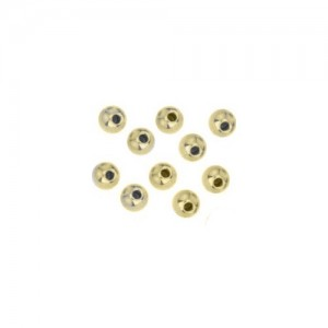 Memory Wire Gold Plated End Cap