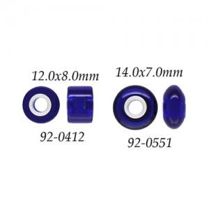 Blue Quartz w/ 5mm Grommets
