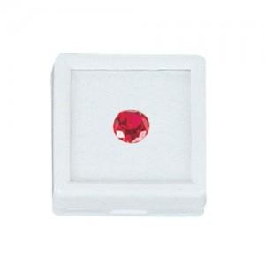 """Stone Jar - Glass Top with Foam Interior (1.5"""" x 1.5"""")"""