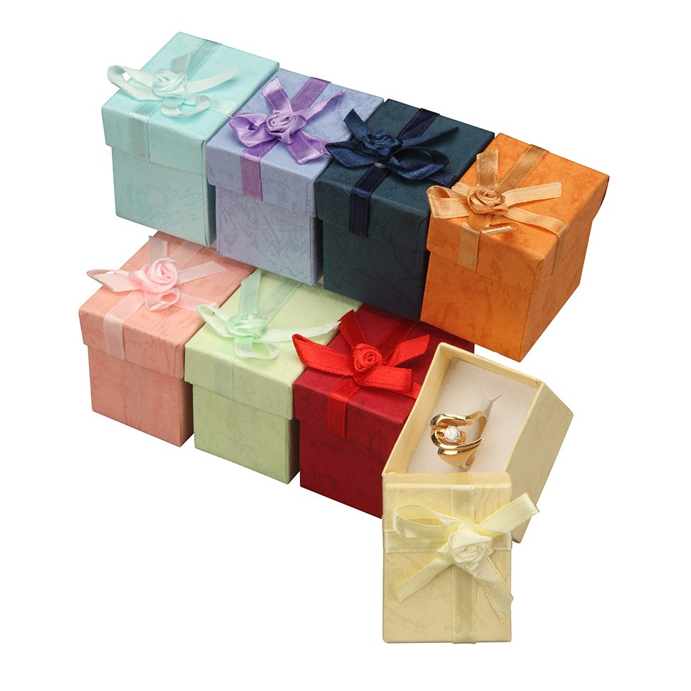 a a jewelry supply ring gift boxes colorful floral bow tie gift boxes. Black Bedroom Furniture Sets. Home Design Ideas