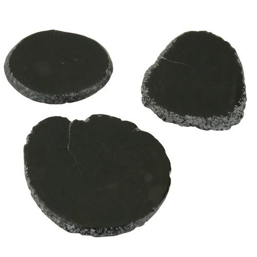 8 x 3 Genuine Natural Obsidian Gold Testing Stone