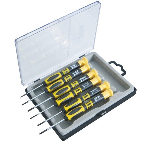 a a jewelry supply 6 pc screwdriver set in box. Black Bedroom Furniture Sets. Home Design Ideas