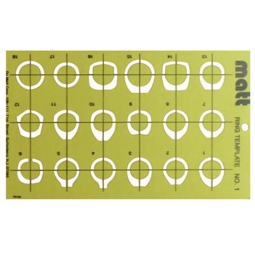 a a jewelry supply matt rings templates