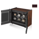 Orbita 'Avanti' Self-Programming 6-Watch Executive Winders in Macassar Ebony & Carbon Fiber