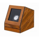"Orbita ""Siena"" Self-Programming Single Watch Winder in Laquered Teakwood"
