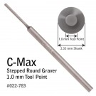 GRS 022-783 C-Max Round Step Graver 1.0 MM