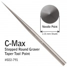 GRS® C-Max Stepped Round Graver, Taper Point #022-791