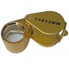 14-Power Triplet Color Corected Loupe 14 x 12mm