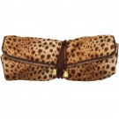 Jewelry Roll in Safari Leopard Print, 11 x 8.13 in.