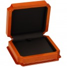 """Napa"" Large Earring or Pendant Box in Beech & Onyx Nabuka"