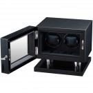 Volta Double Watch Winder - Carbon Fiber Finish