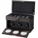 Volta 3 Watch Winder - Rustic Brown
