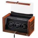 Volta 3 Watch Winder - Ebony/Rosewood