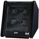Volta Slanted 4 Watch Winder - Carbon Fiber Finish