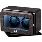 Volta 2 Watch Winder w/ Rotating Base (Black Oak)