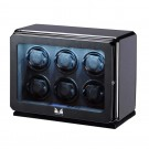 Volta Roadster 6-Watch Winder in Carbon Fiber