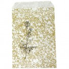"""Gold Design Paper Bag - 6.0"""" x 9.0"""""""