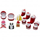 """Occasions"" Christmas Ornament Ring Slot Box in Assorted Shapes and Colors"