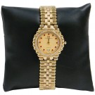 "Pillow Display - Black Faux Leather Finish 3"" x 3"""