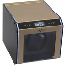 Single (1) Programmable Watch Winder Champagne Aluminum w/ LED Illumination