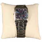 "3 x 3 Inch Bangle or Watch Pillows in Linen, 3"" L x 3"" W"