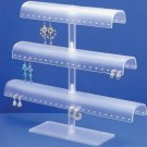 "3-Tier Adjustable Earring Stands, 13.13"" W x 11.38"" H"