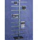 "Hanging Earring Card Display Stand 19""H - Black Bar"