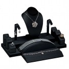 10-Piece Combination Jewelry Display Set in Onyx