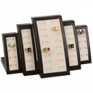 40-Ring Slot Display Set in Sandstone & Umber