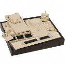 Multi-Function Stackable Tray - Beige Brown