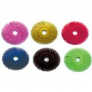 "Scotch-Brite 1"" Radial Bristle Discs, Pack of 12"