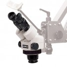 Meiji Microscope Head Only (0.7x - 4.5x) Binocular Zoom Stereo Body, Working Distance 93mm